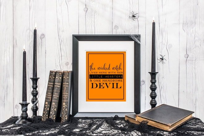 The Wicked Witch Lives Here Printable | Free!