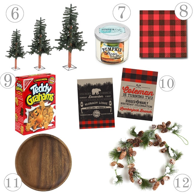 Lumberjack Party - Must-Haves!
