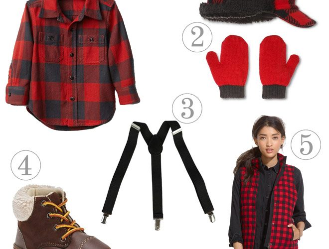 Essentials for a Rugged + Manly Lumberjack Party