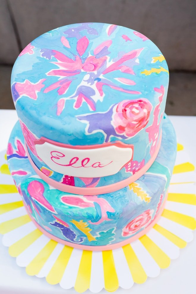 Adorable Lilly Pulitzer Inspired Party Pizzazzerie