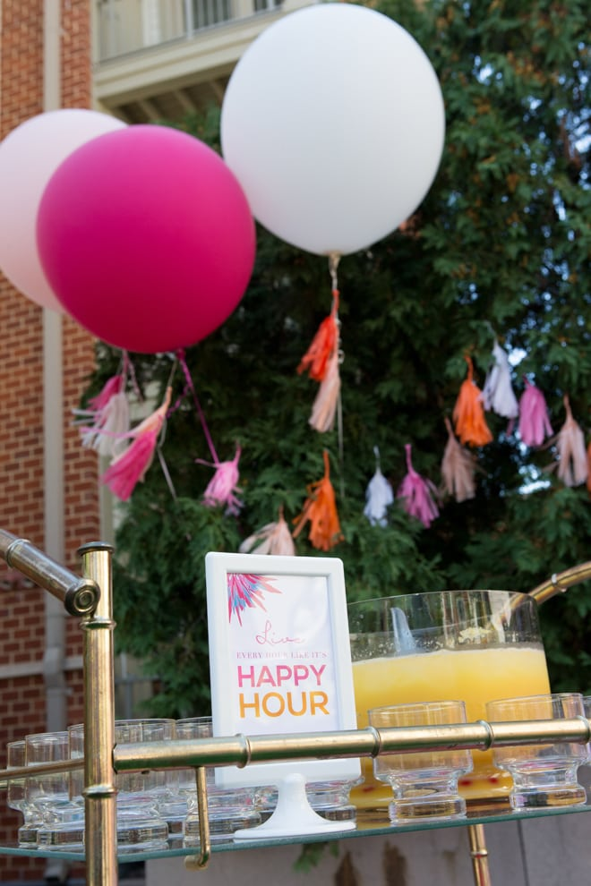 Cute Lilly Pulitzer Inspired Birthday Party