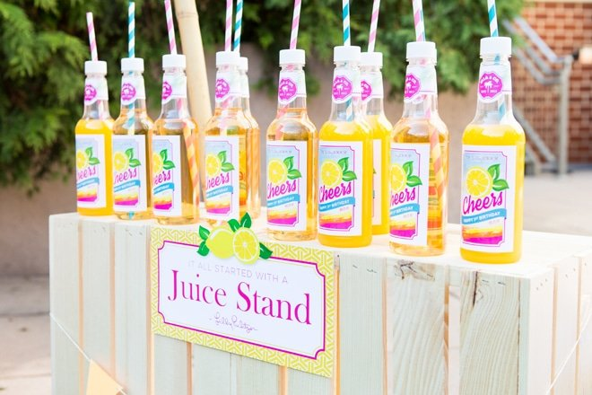 Adorable Lilly Pulitzer Inspired Party!