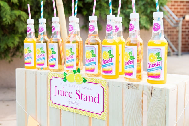 Love Lilly? Cute Lilly Pulitzer Inspired Birthday Party