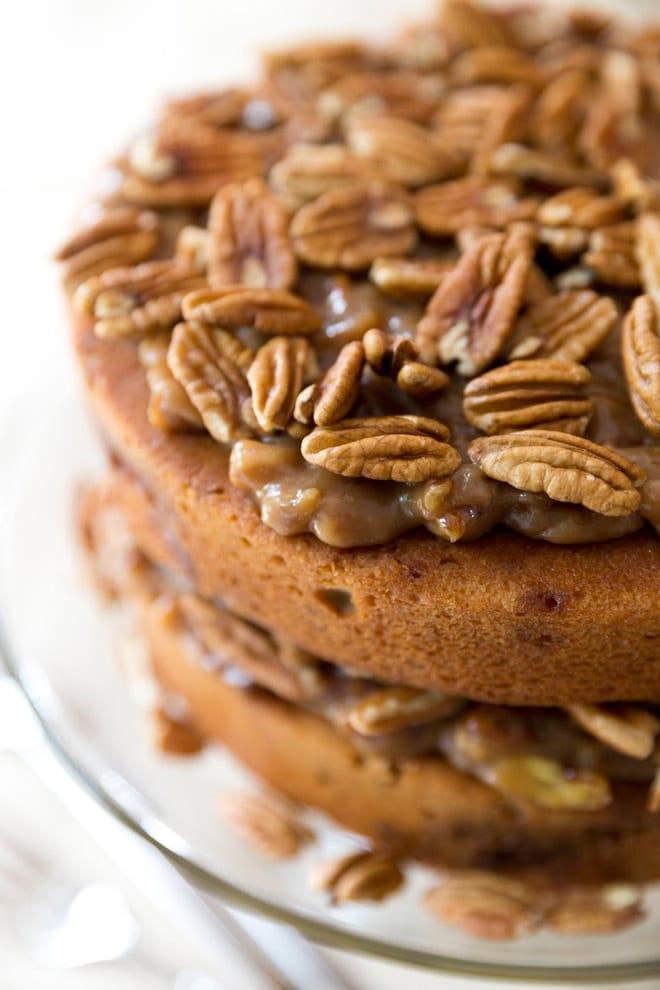 Pecan Pie CAKE! So good!