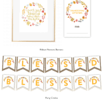 Free Thanksgiving Printables ( Banners, 8x10 Art Print, etc!)
