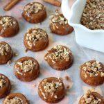 Mini Caramel Apple Crisp Donuts - too cute and so yummy!