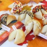 Thanksgiving Fortune Cookies are so easy + cute!