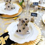 How to style a glam Friendsgiving Tablescape!
