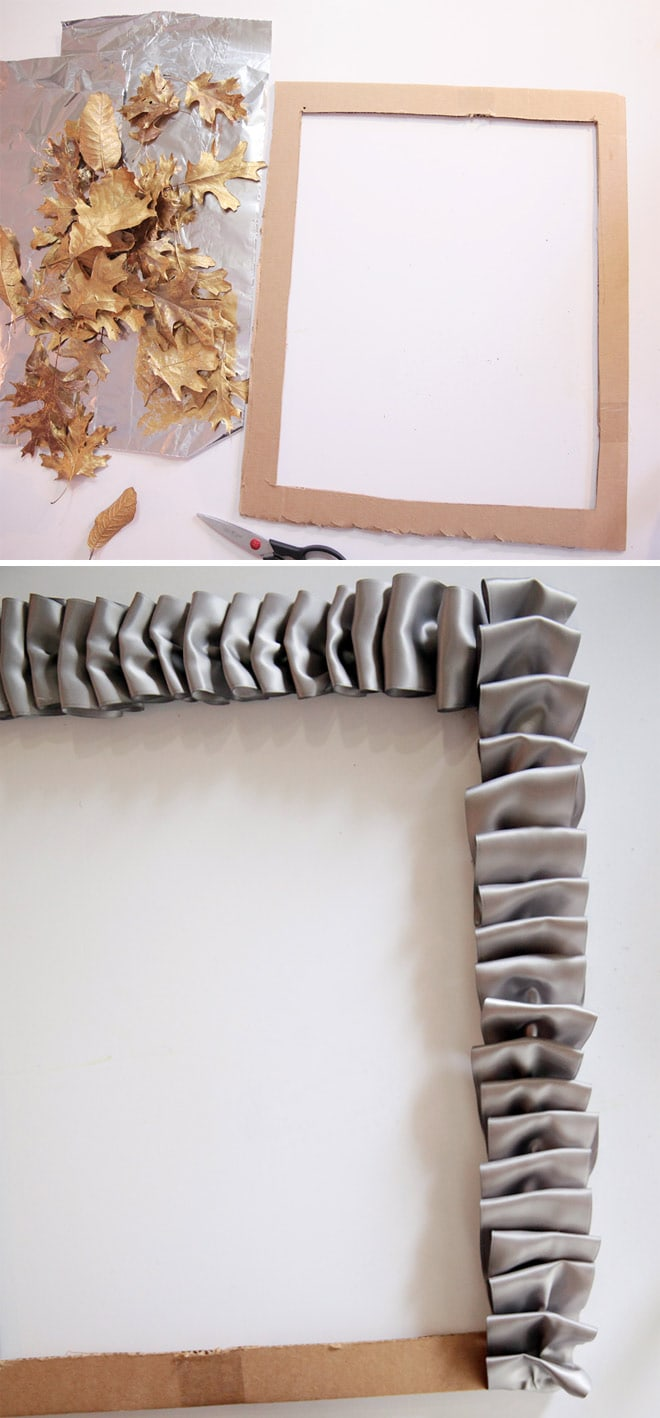 DIY tutorial for leaf frame!