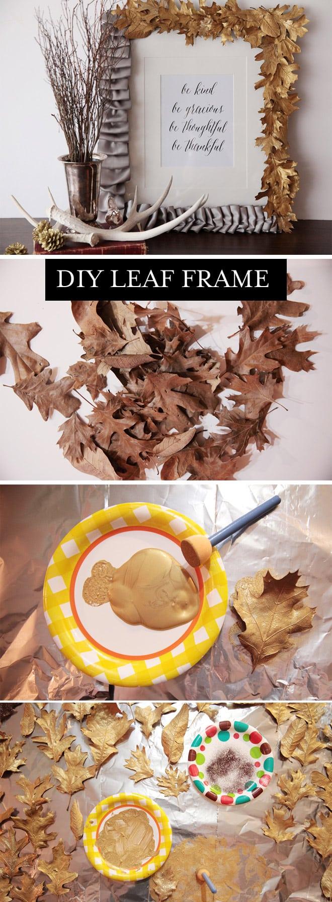 Tutorial: DIY Gold Leaf Frame!