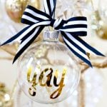 DIY Personalized Ornaments for Christmas!