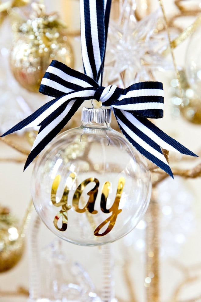 diy personalized christmas ornaments so easy and cute as gifts write your name - Christmas Decorations Names