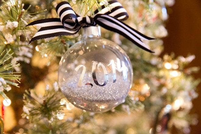 Personalized DIY Ornament Tutorial!