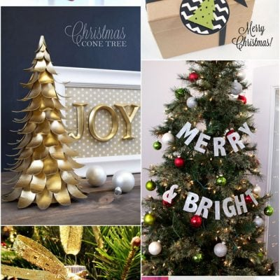 Christmas DIY crafts made with the Silhouette Cameo! Pizzazzerie.com