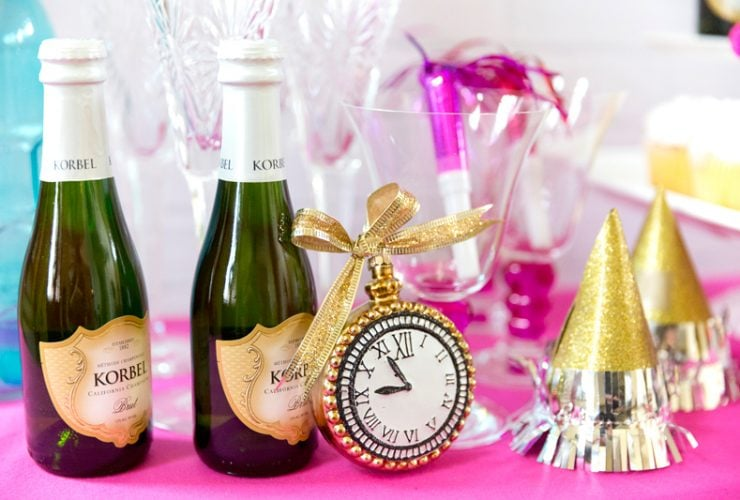 Pink Glam New Year's Eve Party