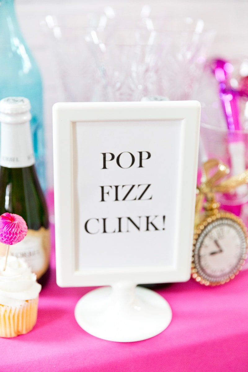 Pink Glam New Year's Eve Party | Pizzazzerie.com