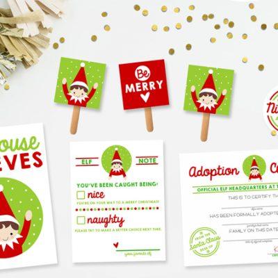 Elf on the Shelf Kit - FREE Download!