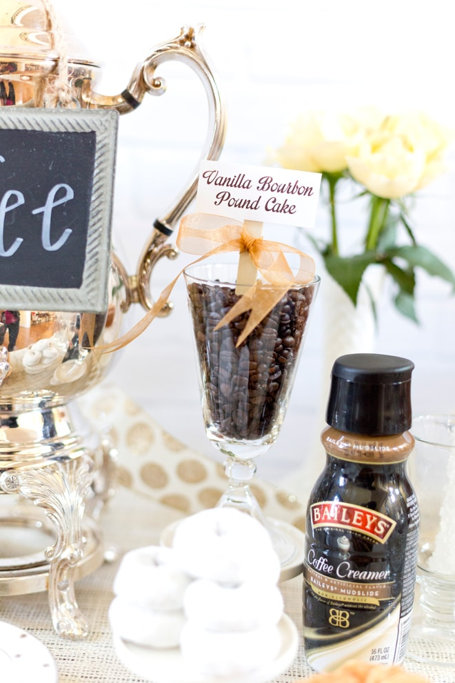 How to style a Breakfast Coffee Bar Party!
