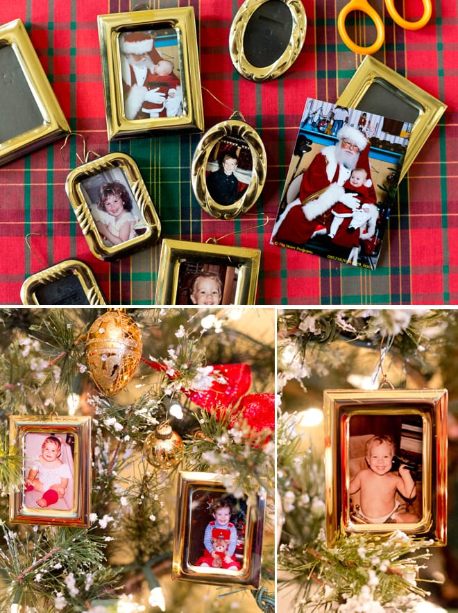 How to start a Family Heritage Christmas Tree! Pizzazzerie.com