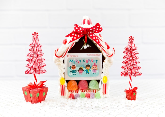 Creative Gift Card Packaging: Gingerbread House!
