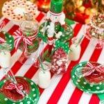 Cute Red & Green Holiday Baking Party!