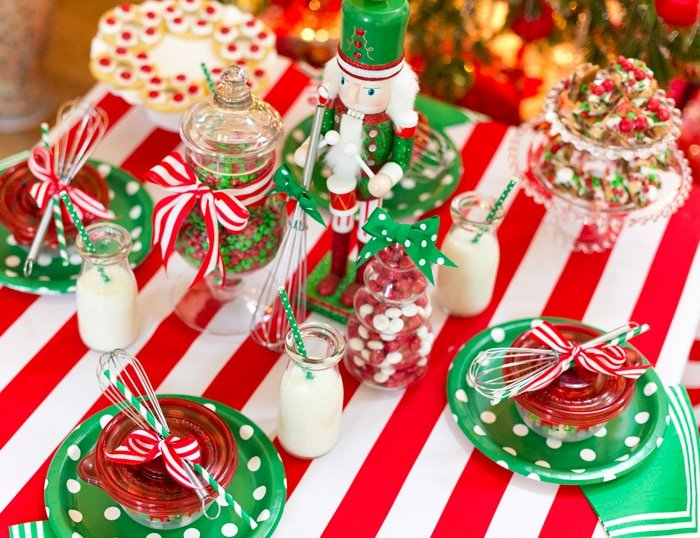 Christmas Baking Party Ideas Part - 26: Cute Holiday Baking Party!