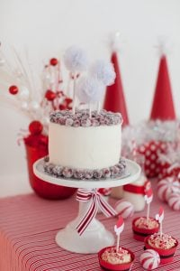 Gorgeous cranberry Christmas cake! Showstopper!