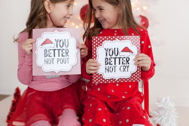 CUTE Christmas signs!