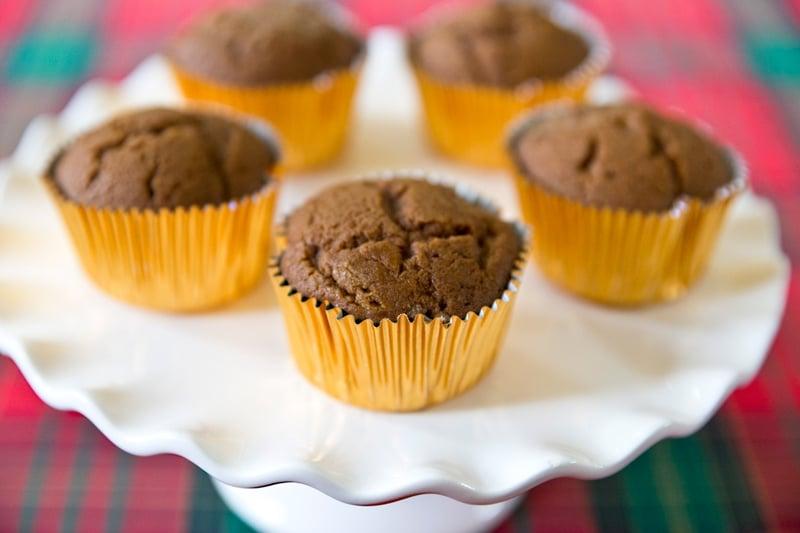 Caramel Gingerbread Cupcakes! Pizzazzerie.com