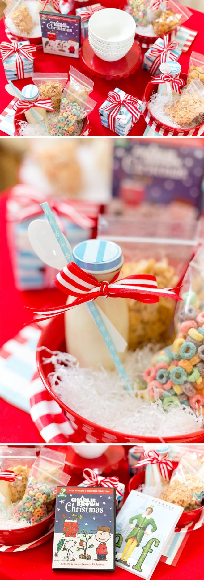Host a holiday movie night! Tips + cute ideas! #nitebites
