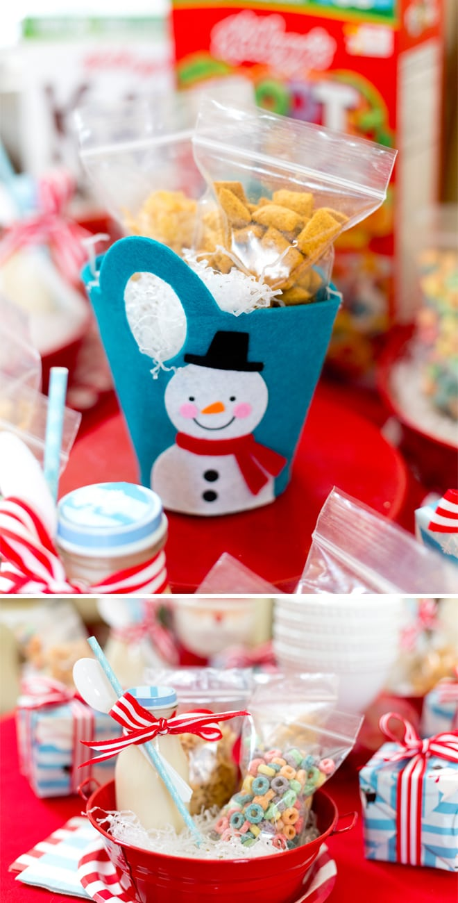 Host a holiday movie party with cereal snacks! #nitebites