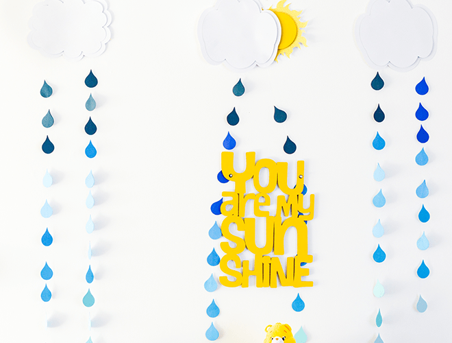 You Are My Sunshine Gender Reveal Party!