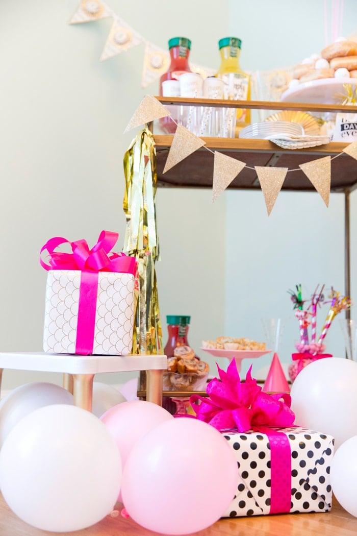 Birthday Bar Cart Brunch