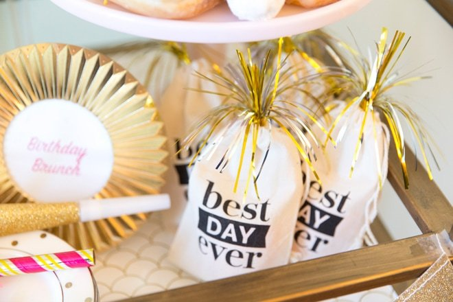 Best Day Ever Birthday Favor Bags