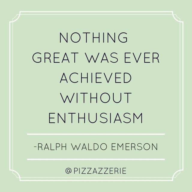 Ralph Waldo Emerson on Enthusiasm