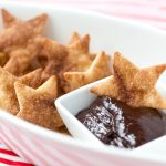 Cinnamon Sugar Stars & Chocolate Dipping Sauce