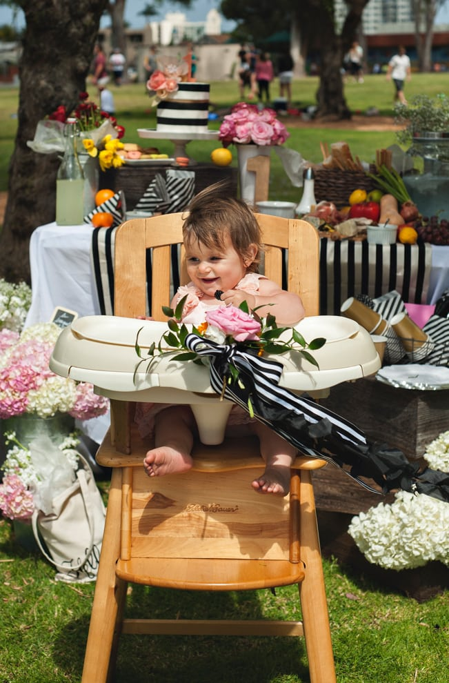 Parisian Farmer's Market 1st Birthday Party