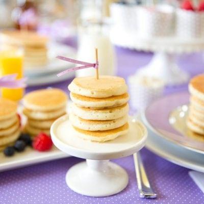Host a fabulous Pancake Party! Pizzazzerie.com