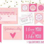 "Free ""Galentine's Day"" Party Printables!"
