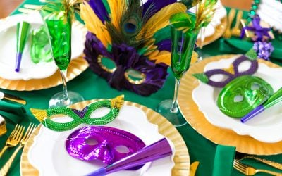 Lots of Mardi Gras Party Ideas and Recipe tips! Pizzazzerie.com
