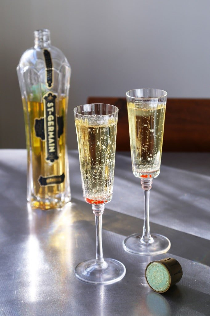 Perfect Champagne Cocktail for Your Oscars Viewing Party