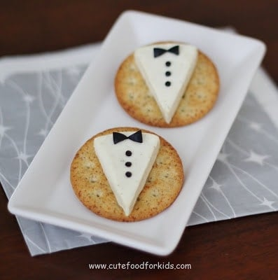 Tuxedo Appetizer for the Oscars