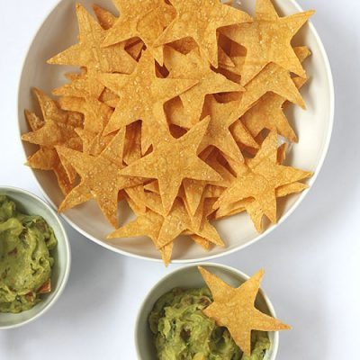 Oscars Party Food: Star Shaped Tortilla Chips