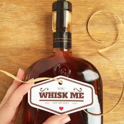 You Whisk Me Off My Feet - Guy's Valentine Idea