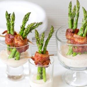 Bacon Wrapped Asparagus | Pizzazzerie.com