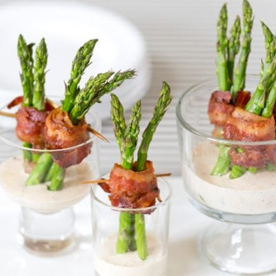 Bacon Wrapped Asparagus | Pizzazzerie.com