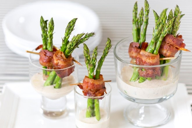 Bacon Wrapped Asparagus Appetizer