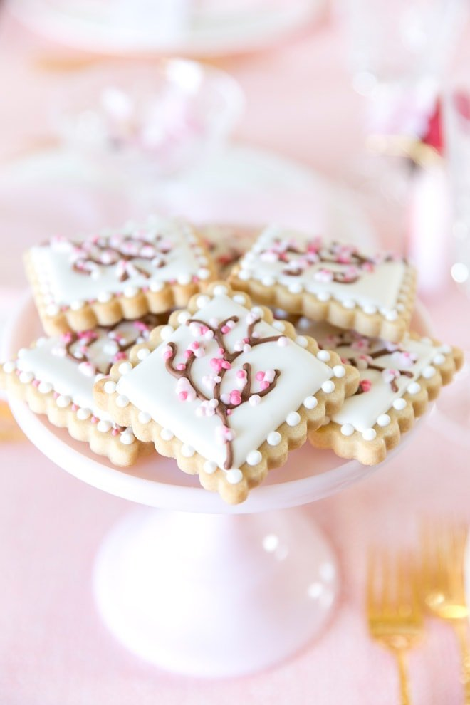 Japanese Cherry Blossom Party Tablescape Pizzazzerie