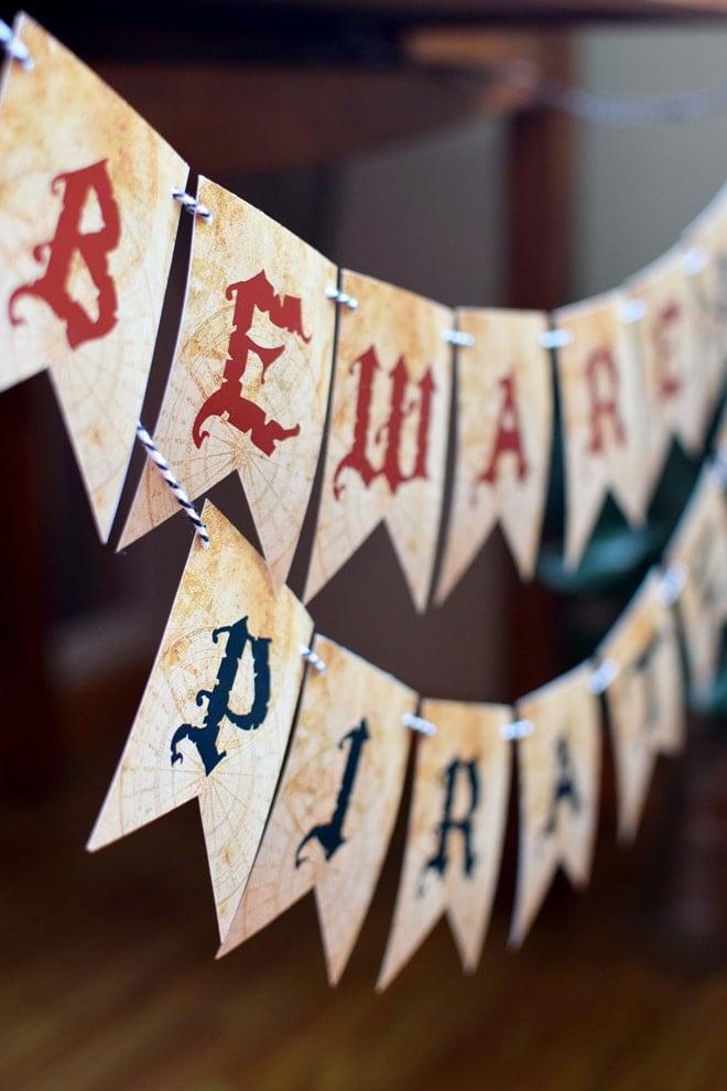 Party Feature Captain Jack Sparrow Pirate Party Pizzazzerie