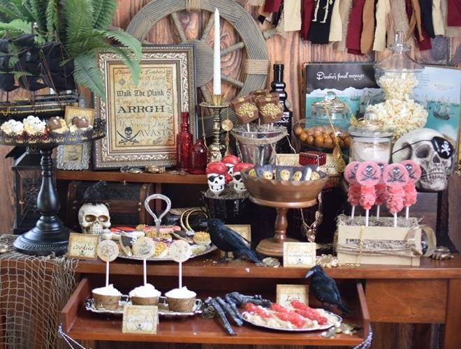 Party Feature: Captain Jack Sparrow Pirate Party